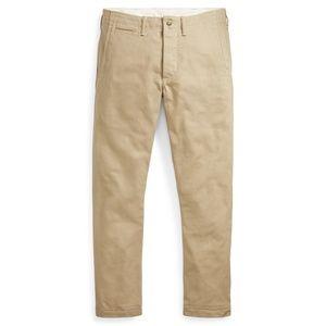 Ralph Lauren Polo Cotton Khaki Chinos 48 32 Pants